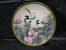 Lenox Nature's Collage Plate Collection - Rose Morning - 24K gold trim