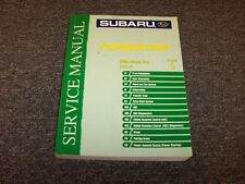2005 Subaru Forester Shop Service Repair Manual Section 5 Chassis X XS 2.5L