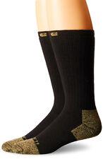 Carhartt Men's 2 Pack Full Cushion Steel-Toe Cotton Work Boot Socks, Shoe 6-12