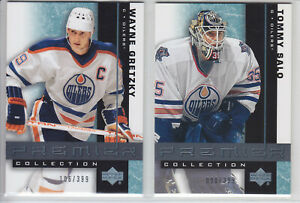 2001-02 UD PREMIER COLLECTION HOCKEY #1-30 BASE /399 UPPER DECK FINISH SET U PIC