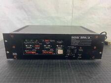 BGW SPA-3 Signal Processing Three Way Amplifier