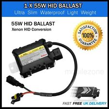 1 x 55W Xenon HID Conversion Replacement Ballast Slimline H1 H3 H7 H8 H11 HB4