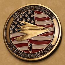 B-2 Stealth Bomber Whiteman AFB Missouri Air Force Challenge Coin
