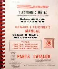 Seeburg Ops & Adustments For Select-O-Matic Mechanism - An Arm /Vg Publication
