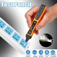 AC DC Electricity Detector Test cil 12-1000V Voltage Sensitivity Electric  )%#
