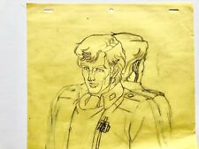 Legend of the Galactic heroes Original Anime Animation Production Cel Drawing