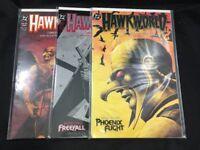Hawkworld # 1 - 3 Complete Set VF- DC Comics 1989 Origin of Hawkman