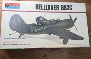 Vintage Monogram HELLDIVER SB2C Airplane 1:48 Model Kit