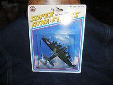 Vintage Super Dyna-Flites Camouflage Plane 1993 Moc