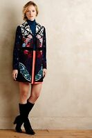 NWT Anthropologie Florilege Coat by Elevenses Size 0