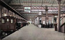 Heysham. Railway Station & Motor Train # 47421 by Valentine's.