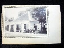 VERY OLD REAL PHOTO-PC: INDONESIA~PASOEROEAN~HOTEL MORBECK~ANIMATED~UNDIVIDED