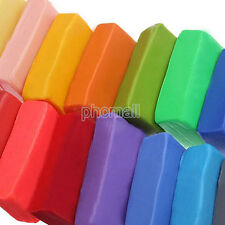 12 Colors DIY Craft Soft Clay Plasticine Blocks  Effect Polymer Modeling Toy