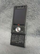 Sony Ericsson W910i Handy Gehäuse schwarz #1 D mobile phone case housing black