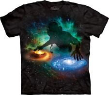 Galaxy DJ Space T Shirt Adult Unisex The Mountain