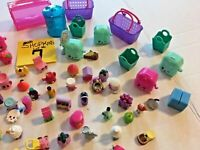 Shopkins Cases Baskets Bins Figures Huge Lot #7 FREE SHIPPING  SKU 036-49