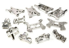 C26467SILVER Integy Billet Machined Suspension Kit for HPI 1/8 Apache C1 Flux