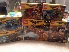 ULTIMATE SEALED BATMAN MOVIE LEGO LOT 70900 THE JOKER BALLOON ESCAPE 70904 70920