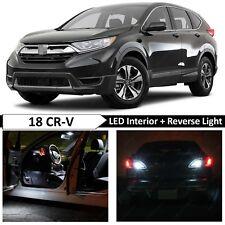 White Interior Reverse Backup LED Light Package Kit Fit 2017-2018 Honda CRV CR-V