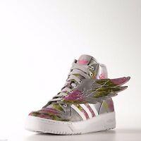 Adidas Originals Jeremy Scott Wings 2.0 Shoes Floral Reflective B26023 US 6.5