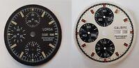 2pcs Calibre and Lorsa Watch dial for ETA Valjoux 7750 unused different colours