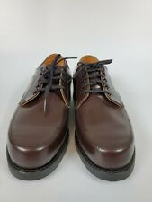 VINTAGE Men's Dress Shoes MASON Oxford SZ 9.5E Brown Leather MADE IN US! NEW!