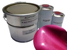 1 Liter Set 2K Autolack Brillant Pink Metallic kein Klarlack Tuning Lackpoint $