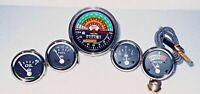 IH Farmall 460, 560 Gas/Diesel Tachometer+Temp+Oil Pressure+Ampere+ Fuel Gauge