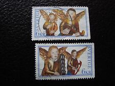 SUEDE - timbre yvert et tellier n° 2009 2010 obl (A29) stamp sweden (A)