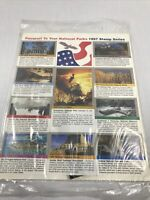 Passport To Your National Parks 1997 Stamp Series Sealed Set of 10