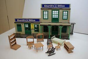 Playmobil Custom Sheriff Office Umbau  Western mit Zubehör