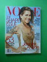Vogue US April 2006 Jennifer Aniston Karolina Kurkova Pharrell Williams Magazine