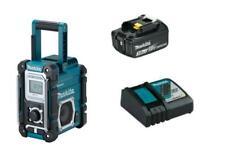 Makita DMR108 Tragbar Radio, Schwarz/Blau
