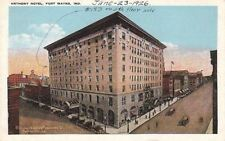 Postcard Anthony Hotel Fort Wayne In