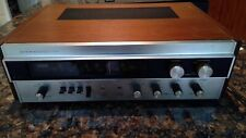 Vintage SHERWOOD S-7100A STEREO RECIEVER Works 70's Japan Needs servicing READ