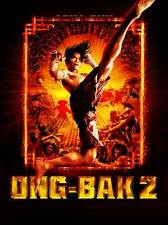 ONG BAK 2 Movie POSTER 27x40 UK Tony Jaa Pongpat Wachirabunjong Nirut Sirichanya