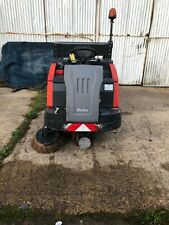 More details for sweeper ride on sweeper electric sweeper yardhako 1200 e