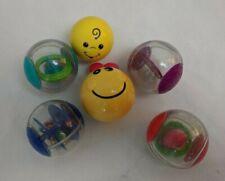 Baby Einstein Roller Pillar Activity Balls w/ Rattle, Light-up head