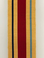 "Britain full size WW2 GENUINE silk ribbon for Africa Star medal  6"" Length"