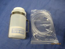 NEW TUDOR WASHER BOTTLE, STAINLESS BRACKET , TUBING AUSTIN MORRIS FORD  **X2C