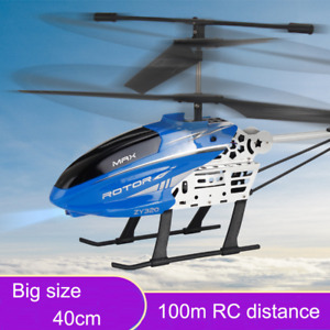 40Cm 2.4G Big Size RC Helicopter with LED Light Radio Control Drone Fixed Height