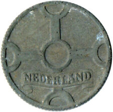 COIN / THE NETHERLANDS / 1 CENT 1942  #WT3546