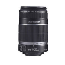 Canon EF-S 55-250mm F4-5.6 IS Zoom Lens 4 Rebel XS XSi T2i T3i T3 60D 7D