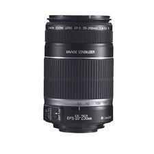 Canon EF-S 55-250mm F4-5.6 IS Zoom Lens 4 Rebel XS XSi T2i T3i T3 60D 7D