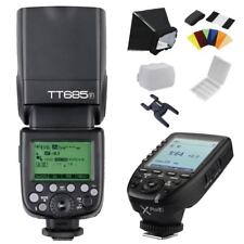 Godox TT685F 2.4G E-TTL 1/8000s Camera Flash Speedlite + Xpro-F Trigger for Fuji