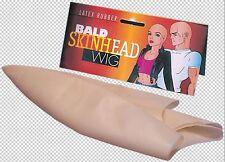 Mens Adult Bald Bare Shaved Head Hairless Skinhead Latex Costume Cap Wig