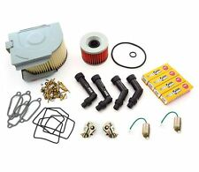 Deluxe Tune Up Kit - Plugs Caps Oil Air Filter Carb Kits Points - Honda CB350F