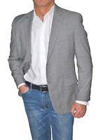 $360 Alfani RED Light Gray Slim Fit Two Button 100% Wool Blazer Sport Coat
