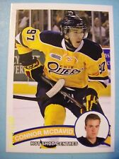 """2014-15 (OHL Prospects) """"Hot Shot Centres"""" Connor McDavid Pre-NHL RC!"""
