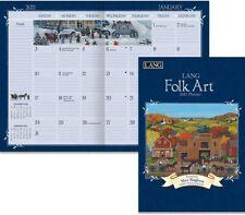 FOLK ART - 2021 MONTHLY PLANNER CALENDAR - BRAND NEW - LANG ART 12099